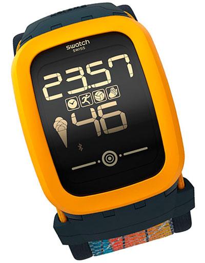 Поклонники волейбола получили свои умные часы Swatch