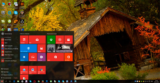 Windows 10 заняла второе место