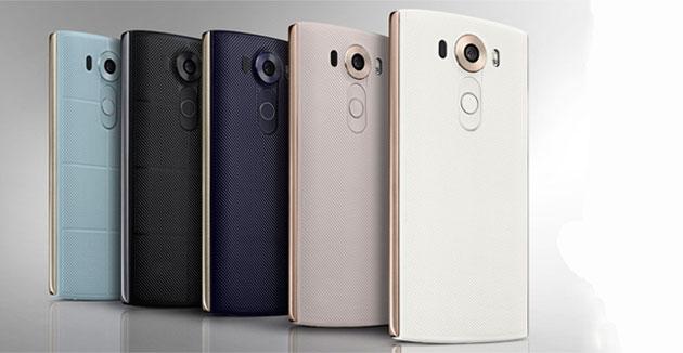 Смартфон с 2 экранами LG V10