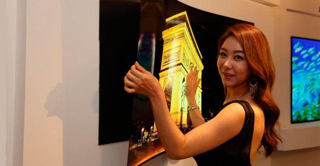 LG представила телевизор толщиной меньше миллиметра