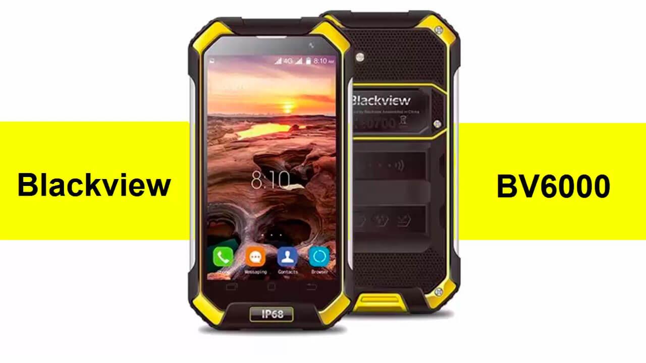 Сверх защищённый смартфон Blackview BV6000